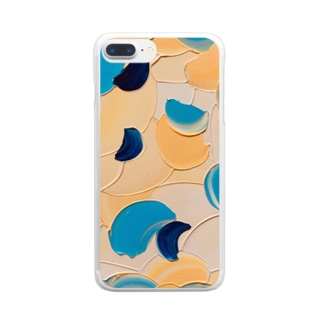 竜宮 Clear smartphone cases