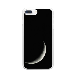 月 Clear smartphone cases