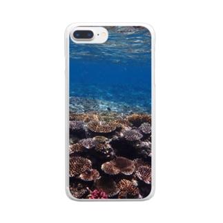ネイチャーパステル2  西表島 Clear smartphone cases