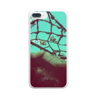 クマノミケース Clear smartphone cases
