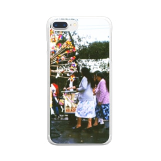 メキシコ:チャプルテペック公園の風車売り Mexico: Chapultepec Clear smartphone cases