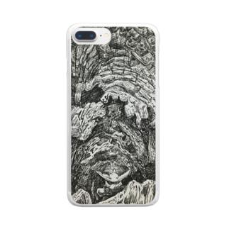 樹壁 Clear smartphone cases