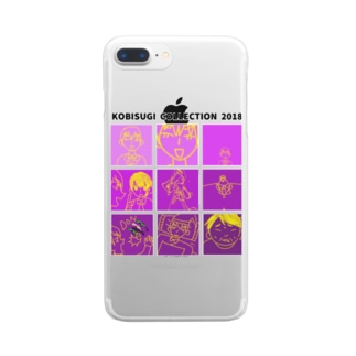 御曹司 Clear smartphone cases