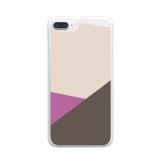 かさなり Clear smartphone cases