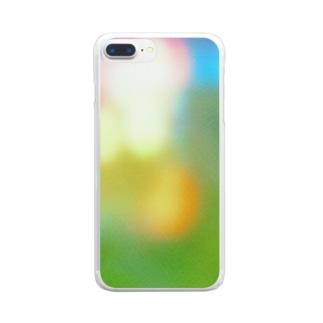 祭りのあと Clear smartphone cases