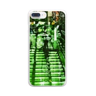 階段 Clear smartphone cases