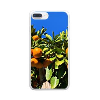 ふゆふゆの実 Clear smartphone cases