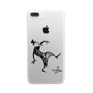 ペスマスくん Clear smartphone cases