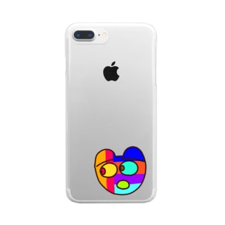 視線の先 Clear smartphone cases