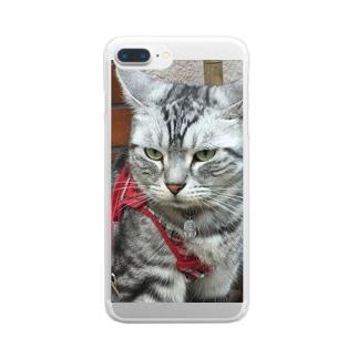 にゃおたむ Clear smartphone cases