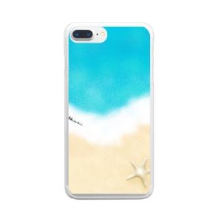 マリンTime Clear smartphone cases