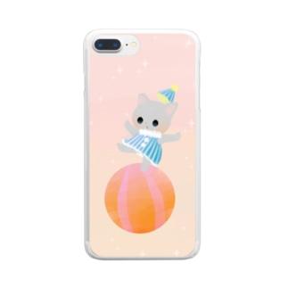 サーカス Clear smartphone cases