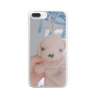 ペンケースのイッヌ Clear smartphone cases