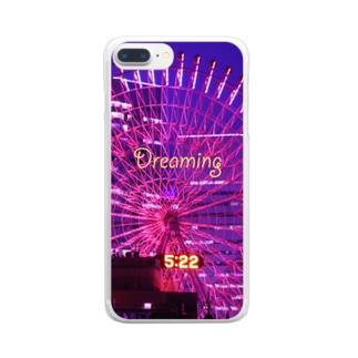 横浜夜景4 Clear smartphone cases