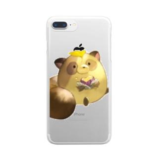 いぬさん Clear smartphone cases