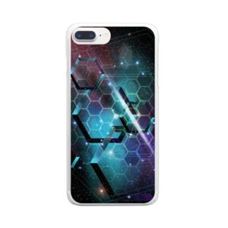 宇宙シリーズ Clear smartphone cases