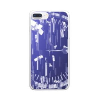 よくわからない Clear smartphone cases