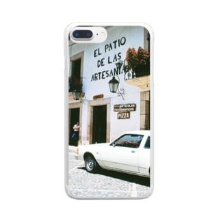 メキシコ:タスコの商店 Mexico: Shops in Taxco Clear smartphone cases