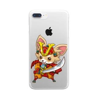 親兵衛のクリアスマホケース Clear smartphone cases