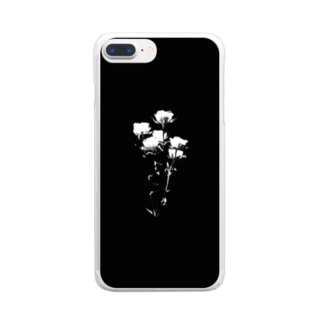 fading Clear smartphone cases