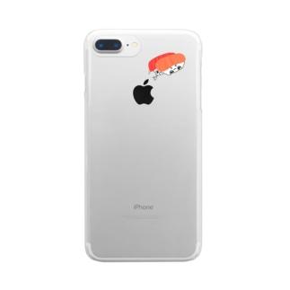 まぐさー兄弟 Clear smartphone cases