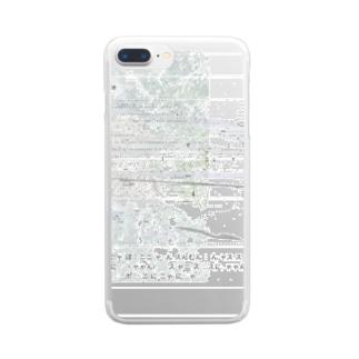 れんらく Clear smartphone cases