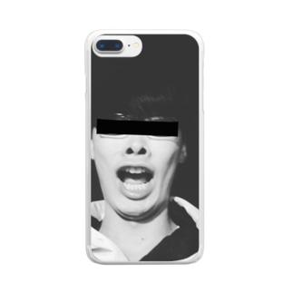 指名手配スマホケース Clear smartphone cases