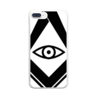 め Clear smartphone cases