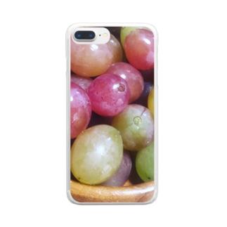 龍の宝珠 Clear smartphone cases