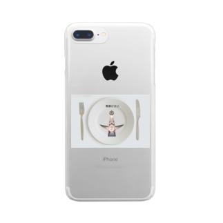 青春ピカソ Clear smartphone cases