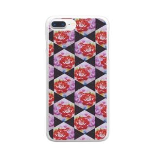 *華* Clear smartphone cases