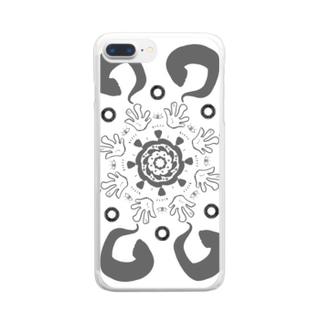 アジアン系 Clear smartphone cases