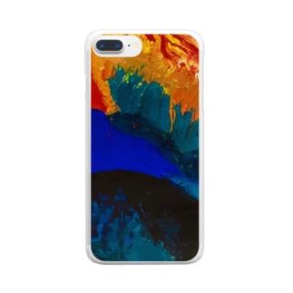 渇望 Clear smartphone cases