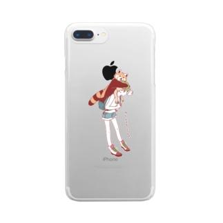 メ・アケテネル Clear smartphone cases