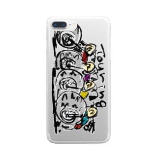 ツーリング Clear smartphone cases