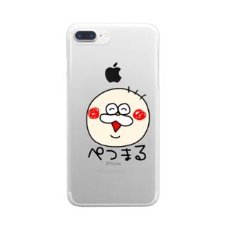 ぺつまる Clear smartphone cases