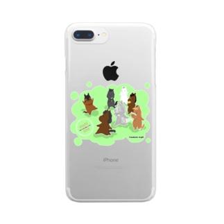 もちうま Clear smartphone cases