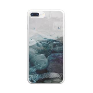 海の臓物 Clear smartphone cases