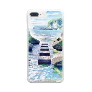 地元 Clear smartphone cases