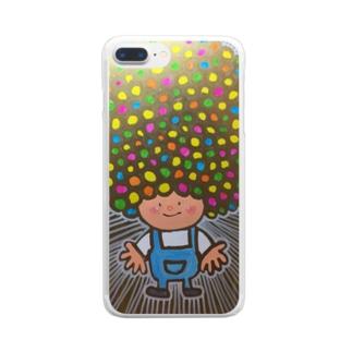 アフロヘルツ出てる Clear smartphone cases