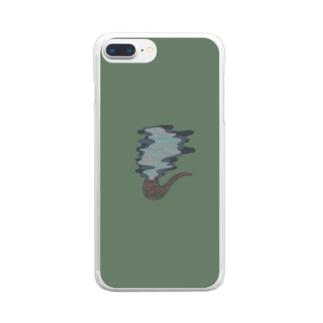 パイプタバコ Clear smartphone cases