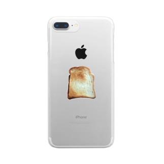 トースト Clear smartphone cases
