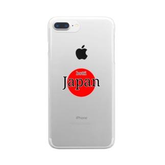 ボッチ日本代表 Clear smartphone cases