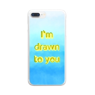 Drawn Clear smartphone cases