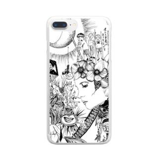 マーキュロ Clear smartphone cases