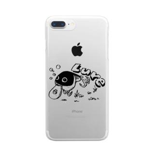 (釣りざんまい)クランクベイト Clear smartphone cases