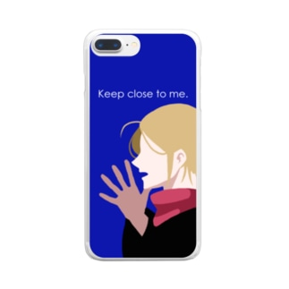 keep close to me Clear smartphone cases