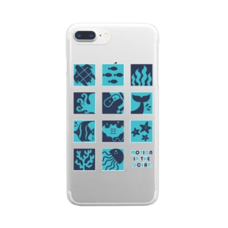 Motion In The Ocean Clear smartphone cases