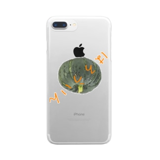 はろうぃん Clear smartphone cases