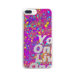 YOLO Clear smartphone cases
